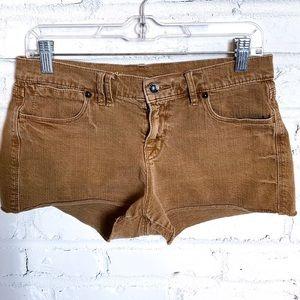 Madewell Brown Denim Short Shorts